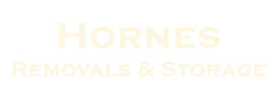 Hornes Removals & Storage Retina Logo